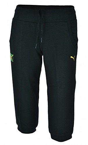 Puma Jamaica Capri Sport Donne tempo libero pantaloni di scarsità nero, Dimension:XS