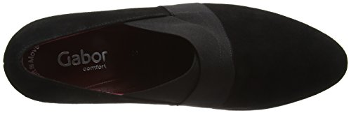 Gabor Comfort Fashion, Escarpins Femme Noir (Schwarz (Fu Rot) 47)