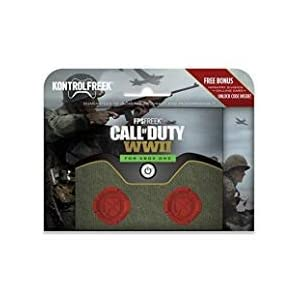 KontrolFreek FPS FREEK COD CALL OF DUTY WWII Thumb Stick Kappen fr XBOX ONE rot