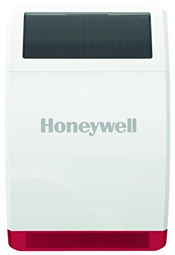 Honeywell Home Security Funk-Außensirene mit Solarmodul (IP44), HS3SS1S