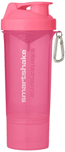Smartshake Slim Neon Pink - 1 Paquete 1 x 500 ml -