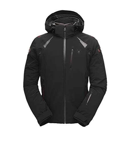 Spyder Mens Pinnacle GTX Jacket (Black), XL