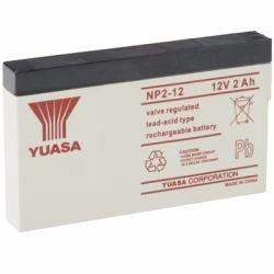 Yuasa NP2-12 - Valve regulated lead acid (12 warranty) Valve-regulated Lead