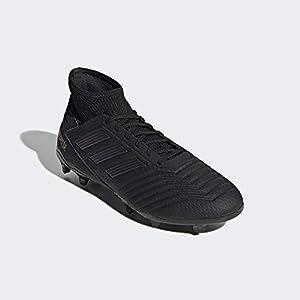 adidas Predator 19.3 FG, Zapatillas de Fútbol para Hombre, Negro (Core Black/Core Black/Gold Met. Core Black/Core Black/Gold Met.), 44 EU