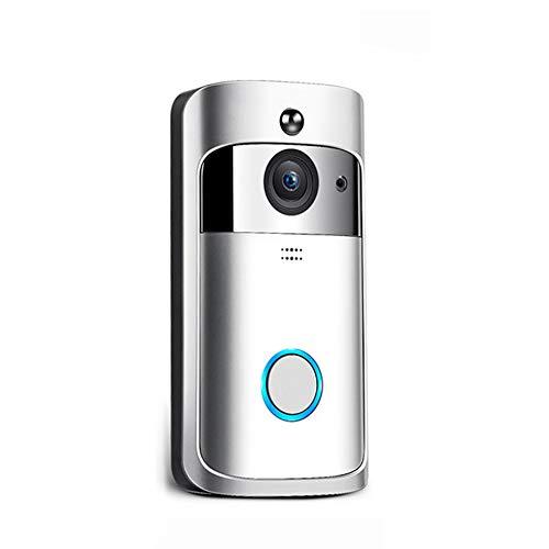 M3 Nachtsicht WIFI Smart Video Türklingel Wireless Portable Home Türklingel Schnurlostelefon Intercom Smart Home Teile - Silber