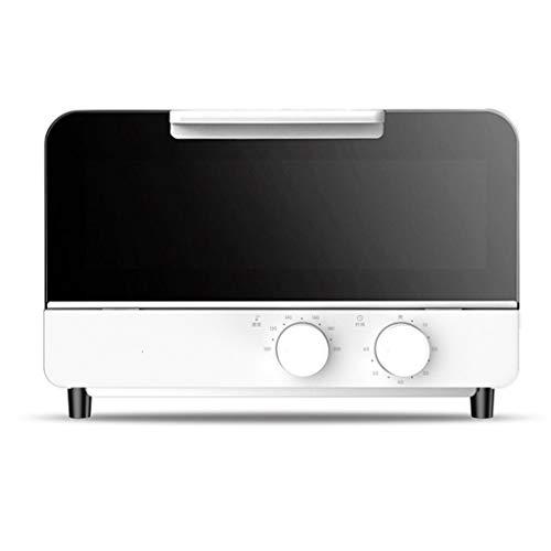 UZIQAQ Mini Horno EléCtrico De 12 litros con Doble Placa Calefactora, Funciones...
