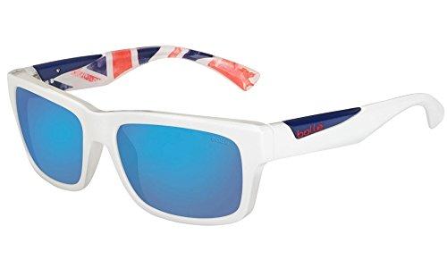 Bollé Jude Sonnenbrille M Matte White/Uk Olympic