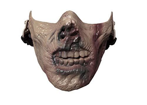WUTONG WUTONGMasken-CS-taktisches Schutzmaske-Halloween-Zombie-Zombie-halbes Gesicht