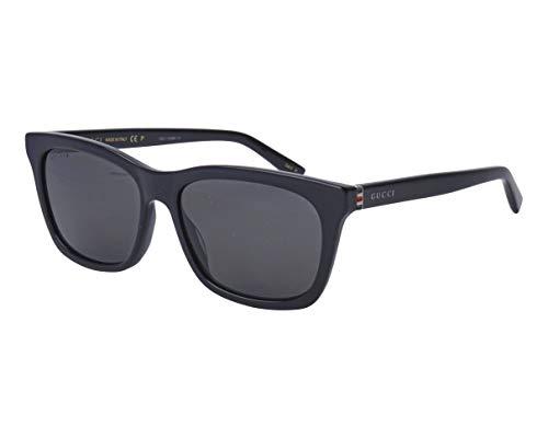 Gucci Sonnenbrillen (GG-0449-S 002) schwarz glänzend - grau