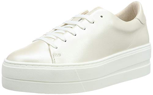Tamaris Damen 1-1-23303-32 Sneaker, Beige (Cream Metallic 472), 39 EU