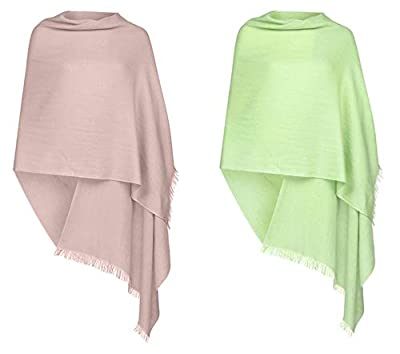 Majik Combo Of 2 Wollen Women Winter Wear Stole For College Girls, Party Wear Stole For Female, 35 Gram, Pack Of 1