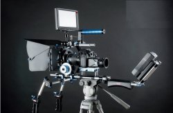 Gowe Kamera Video DSLR Stabilisator Schulter Rigs
