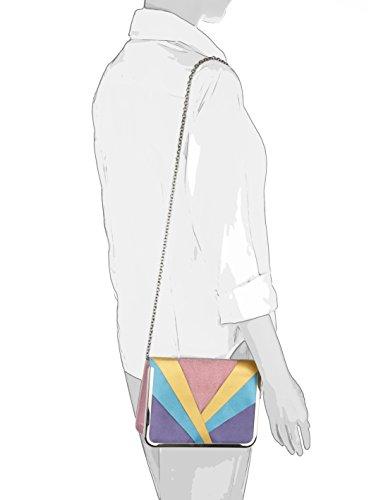 Picard Damen Clutch in farbiger Satinkombination Multi