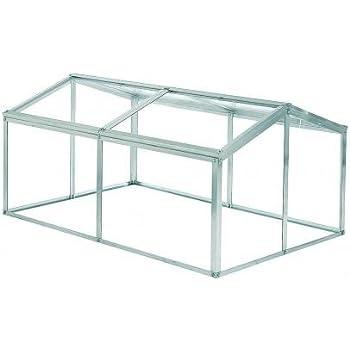 Hall Jumbo Cold frame with Toughened Glass/mini greenhouse: Amazon ...