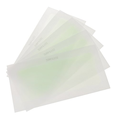Arm-haar-wachs (Gazechimp 10 Stück Enthaarungsmittel Kaltwachsstreifen Hand Arm Bein Körper Haar Entfernung Wachs Streifen)