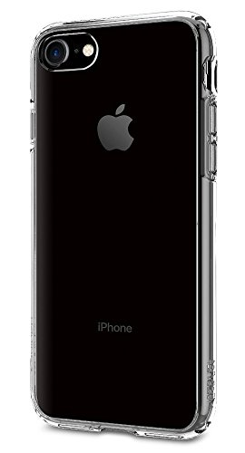 Spigen Ultra Hybrid iPhone 7 Case with Air Cushion Technology and Hybrid Drop Protection for iPhone 7 2016 - Crystal Clear