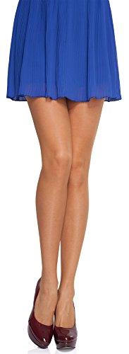 Und Kostüm Ms M (Merry Style Damen Strumpfhose MS 105 20 DEN (Beige,)