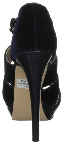 Ravel Hinda, Damen Plateau-Pumps Blau (marineblau)