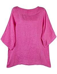 Damenmode Schlussverkauf Damen Oberteile 44 Made In Italy Blusen, Tops & Shirts