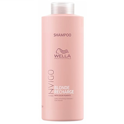 Wella Invigo Blonde Recharge Cool Blonde Color Refreshing Shampoo 1000 ml