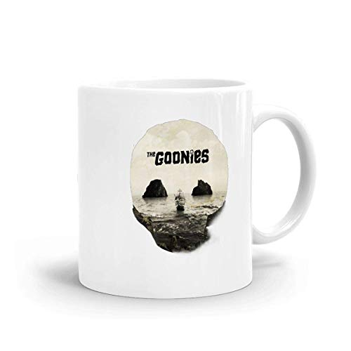 The-Goonies Shiny Coffee Mug White Ceramic