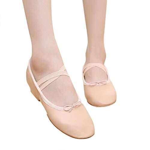 JiaMeng Soft Bottom Cat Claw Schuhe Lehrer Sohlen Ballettschuhe Kinder Erwachsene Dame Schuhe