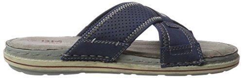 BM Footwear Herren 2716101 Pantoletten Blau (Night)