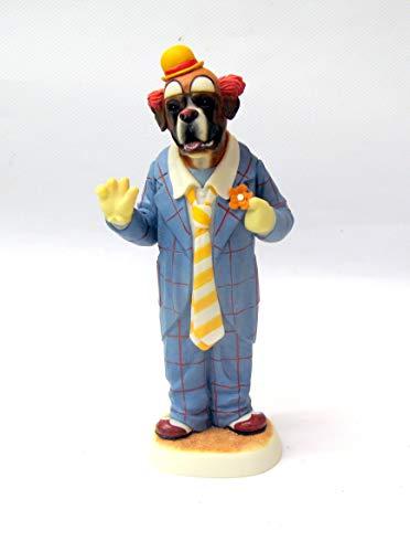 Robert Harrop Doggie People Brindle Boxer Auguste Clown DP237B, Limitierte Auflage von 100 Stück