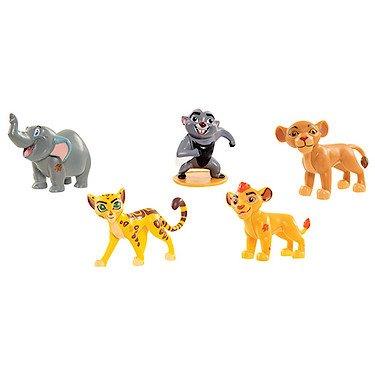 Disney – La Garde du Roi Lion – Pack 5 Mini Figurines 5 cm