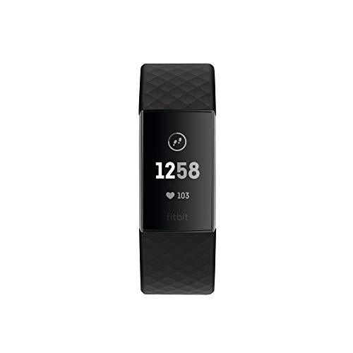 31xUZQksRCL. SS500  - Fitbit Charge 3 Advanced Fitness Tracker with Heart Rate, Swim Tracking & 7 Day Battery