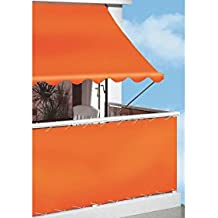 Angerer Klemmmarkise PE-Gewebe Uni, Orange, 300 cm
