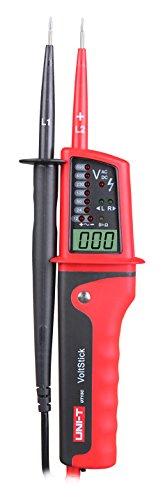 UNI-T UT15C Multifunktion Wasserdichte Digital Voltage Meter Spannungstester Voltmeter Voltimetro 24 V ~ 690 V AC/DC Spannung Tester LCD Anzeigen Automatische Reichweite (UT15C) -
