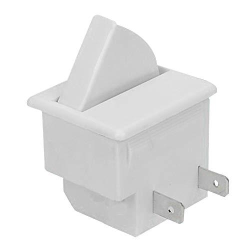Morehappy7 - Interruptor de luz para Puerta de refrigerador (Recambio para frigorífico,...