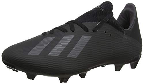 adidas X 19.3 FG, Zapatillas de Fútbol para Hombre, Negro (Core Black/Utility Black/Silver Met. Core Black/Utility Black/Silver Met.), 42 2/3 EU