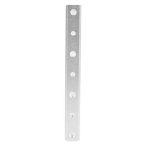 Acogedor Aluminiumlegierung T-Nut-Gehrung, T-Nut-Gehrungsschiene T-Schraubenbefestigungsschlitz, für T-Schraube, Schnellspanner, 100/200/300/450 mm(200MM)