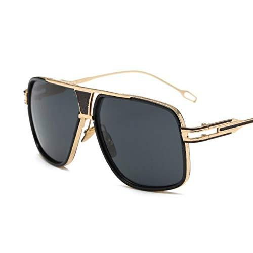 AAMOUSE Sonnenbrillen männer Mode Quadrat Sonnenbrille Spiegel Shades großen metallrahmen Louis Vintage Sonnenbrille Frauen klare linse Eyewear Brillen