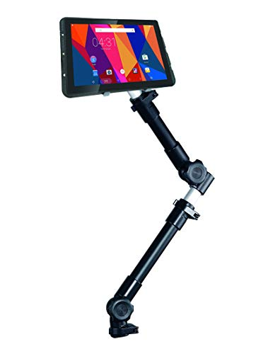 "Infuu Holders KFZ universal Halterung für Tablet-PC 10-15 Zoll iPad Pro 12,9"" Galaxy Note Pro XXL Netbook Kamera Auto LKW stabil Metall 002-P"