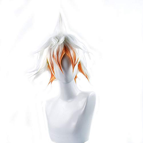 Cosplay Wig, Anime Characters, Short Hair Men,White