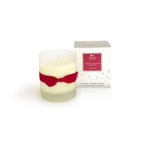 Seducing-Vela perfumada-jazmín, sándalo y pachuli