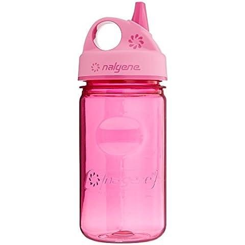 NALGENE Tritan Grip-N-Gulp BPA-Free Water Bottle,Pink - 2 Count by Nalgene