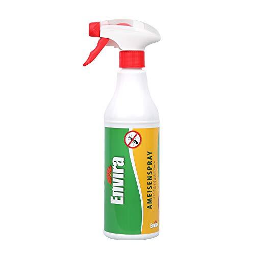 Envira Ameisen-Spray 500ml - Anti-Ameisen-Mittel Mit Langzeitwirkung - Geruchlos & Auf Wasserbasis