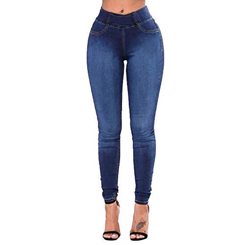 MEIbax Leggings Deportes Pantalones para mujeres de mezclilla...