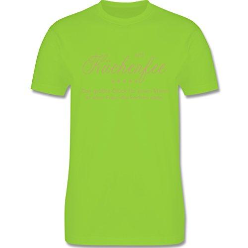 Küche - N°1 Küchenfee - Herren Premium T-Shirt Hellgrün