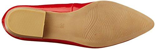 Marco Tozzi 22207, Escarpins Femme Rouge (Chili Patent)