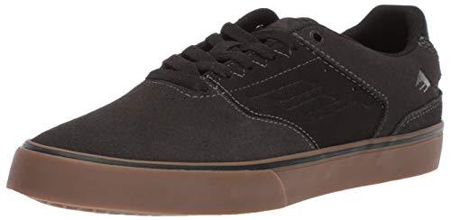 Dark Gum Schuhe (Emerica Herren The Reynolds Low Vulc Dark Grey/Black/Gum 45.5 EU M)
