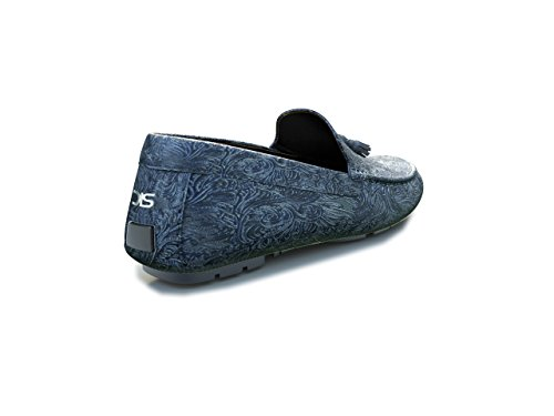 DIS Customized Schuhe - Mokassin - Herren damasco blue