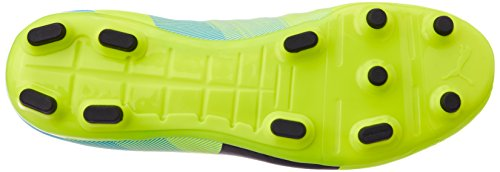 Puma - evoPOWER 4.3 FG, Scarpe da calcio Uomo Giallo (Gelb (safety yellow-black-atomic blue 01))