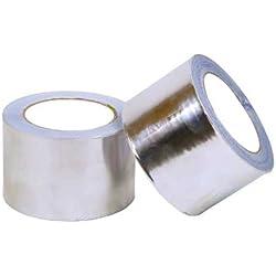 Cofan 10390010 - Cinta (aluminio, 50 mm x 45 m, 30 micras)