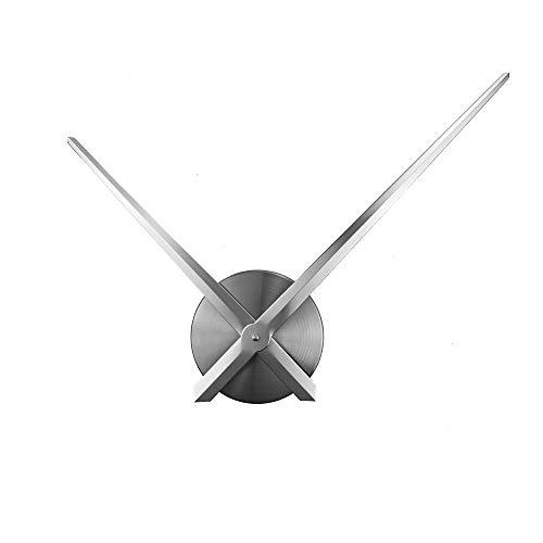 Ufengke Reloj Pared Solo Agujas sin Marco Grande Reloj