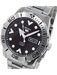 SEIKO 5 Sports Automatic Men's watch SRPA03J1 black